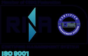 ISO-9001-RINA-cap-cattaruzza-agenzia-spedizioni-shipping-agency-monfalcone